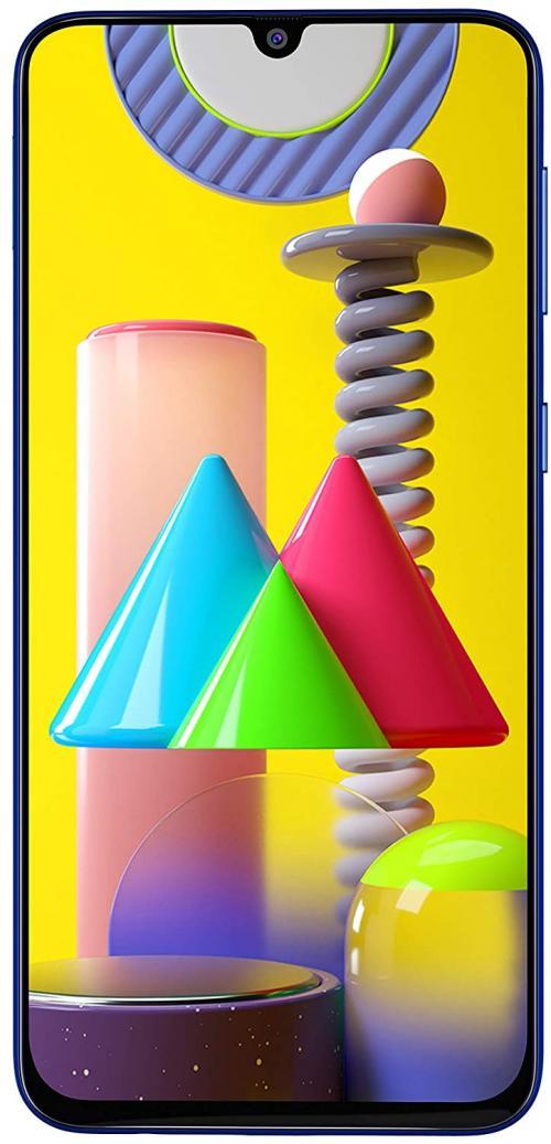 Samsung Galaxy M31 (Ocean Blue, 6GB RAM, 128GB Storage)