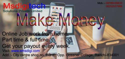 Home based copy & paste ad posting job in India.
