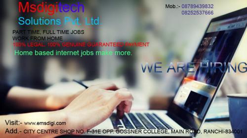 Home based internet jobs make more