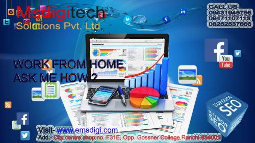 Part & full time home based online work