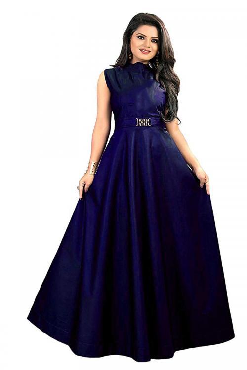 vaidehi creation Womens Twill Tafeta Gown